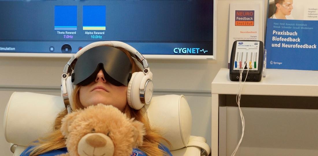 Besser schlafen mit Neurofeedback